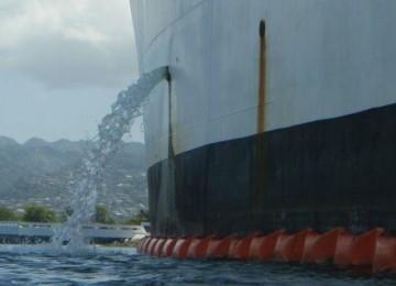 Ballast-discharge